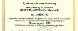 2020 Новые горизонты Турайкин Андрей